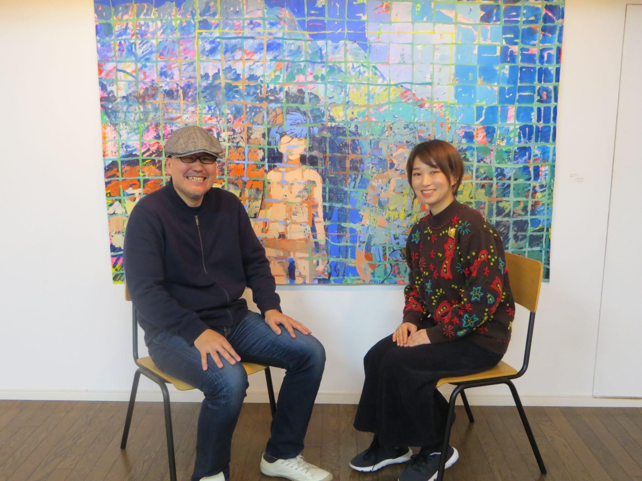 美術の店長 大槻香奈さんインタビュー – Cafe LOSER カフェ・ルーザー